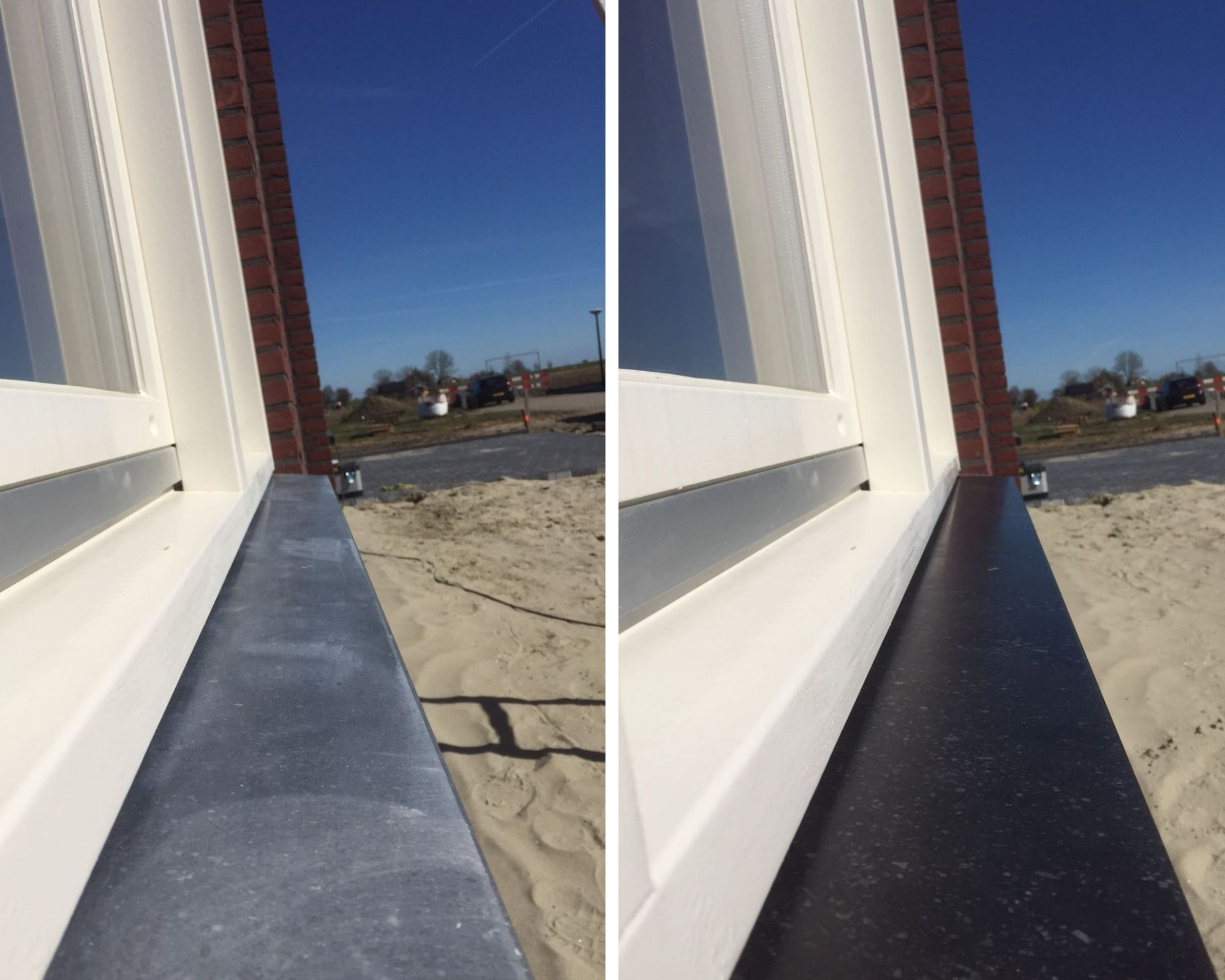 Aanslag verwijderen vensterbank