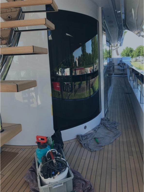 Polijsten in de scheepsvaart