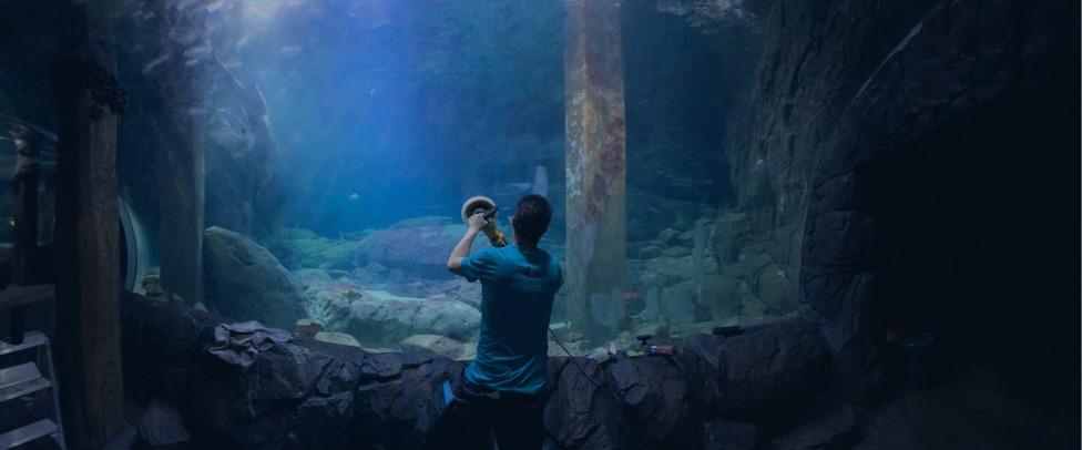 Polijsten van aquarium glas